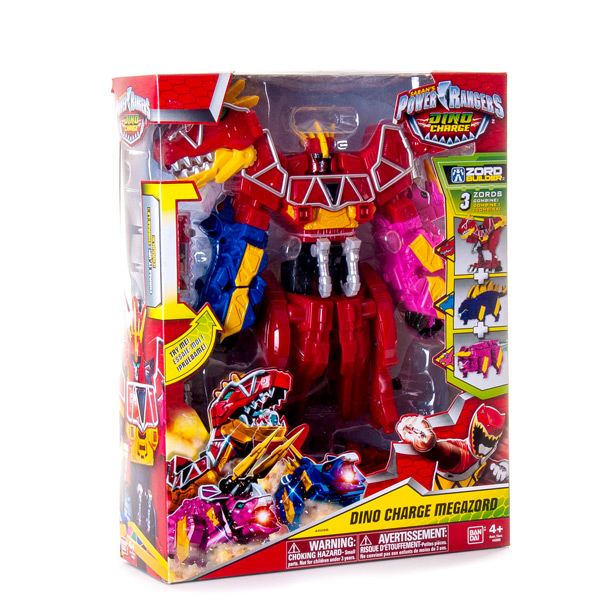Power Rangers Dino Charge Мегазорд DX 42095