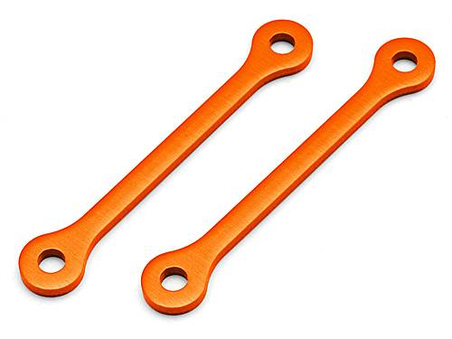 Распорки рычагов UPPER ARM 4x54x3mm (ORANGE/2pcs) HPI-105891