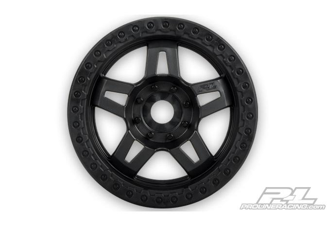 "Диски трак 1/8 - Tech 5 / 3.8"" (40 Series/ Black /2.75"" wide/ Zero Offset/ hex17mm) 2шт PL2722-03"