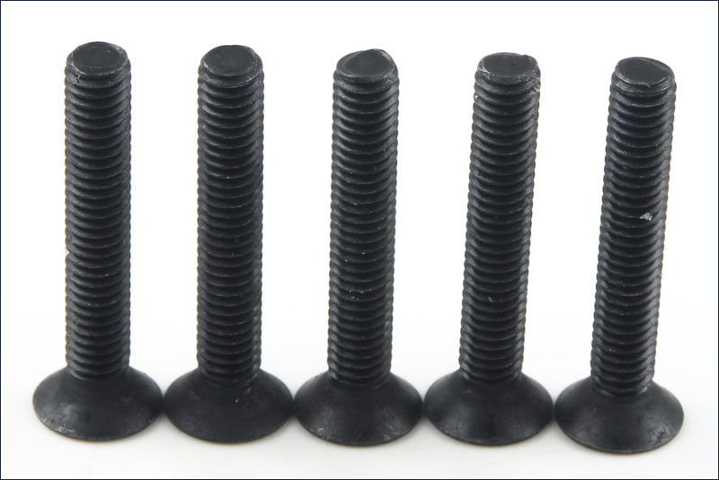 KYOSHO запчасти Flat Head Screw(Hex/M4x25/5pcs) 1-S34025H