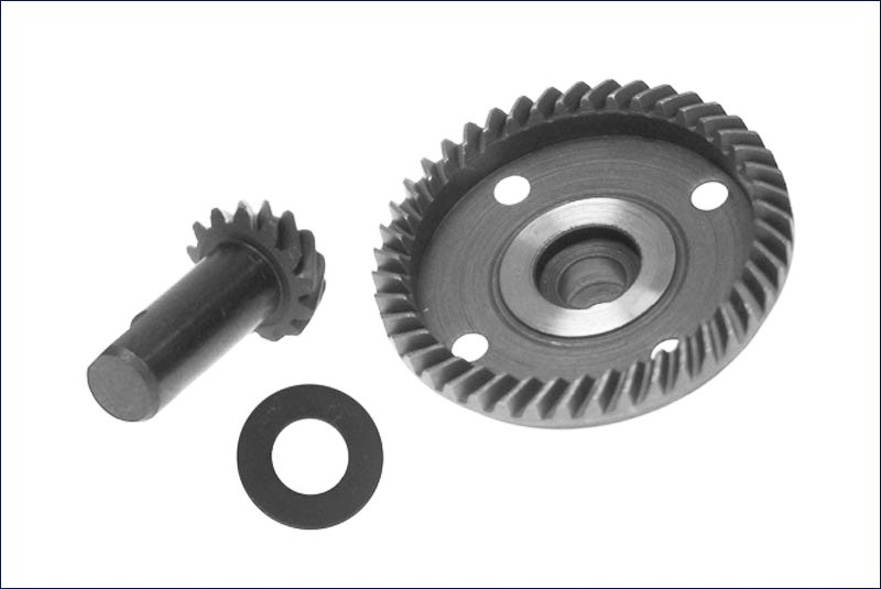 KYOSHO запчасти Bevel Gear Set(for MAD FORCE Ready Set) MA050