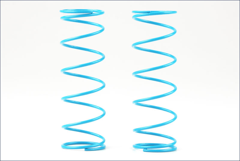 KYOSHO запчасти Big Shock Spring (S/Light Blue/7-1.4/L=70) IF350-714