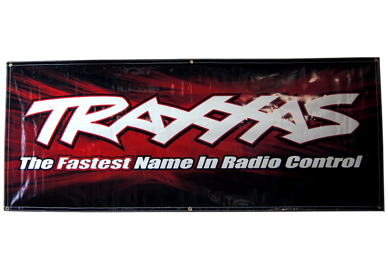 TRAXXAS запчасти Traxxas racing banner, red  black (3x7 feet) TRA9909