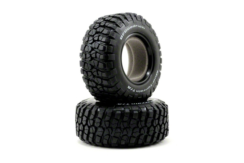 TRAXXAS запчасти Tires, BFGoodrich® Mud-Terrain T/A® KM2 , ultra-soft (S1 off-road racing compound) (dual profile 4.3 TRA6871R