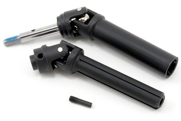 TRAXXAS запчасти Driveshaft assembly, rear, heavy duty (1) (left or right) (fully assembled, ready to install)/ screw TRA6852X