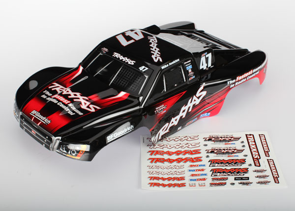 TRAXXAS запчасти Body, Slash 4X4, Mike Jenkins #47 (painted, decals applied) TRA6826