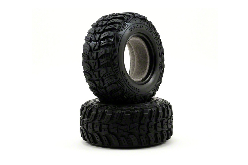 TRAXXAS запчасти Tires, Kumho (dual profile 4.3x1.7- 2.2/3.0'') (2)/ foam inserts (2) TRA6870