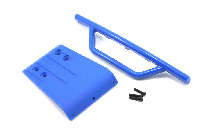 RPM Slash Front Bumper  Skid Plate - Blue RPM80955