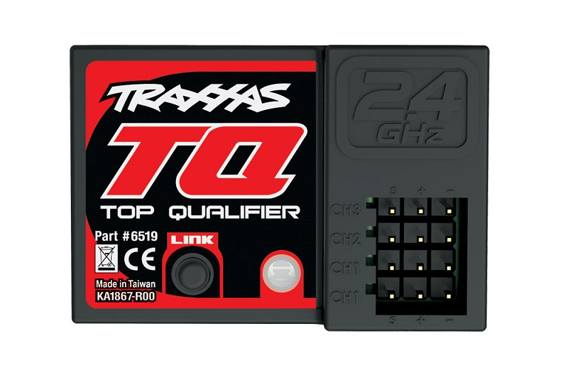 TRAXXAS запчасти Receiver, micro, TQ 2.4GHz (3-channel) TRA6519
