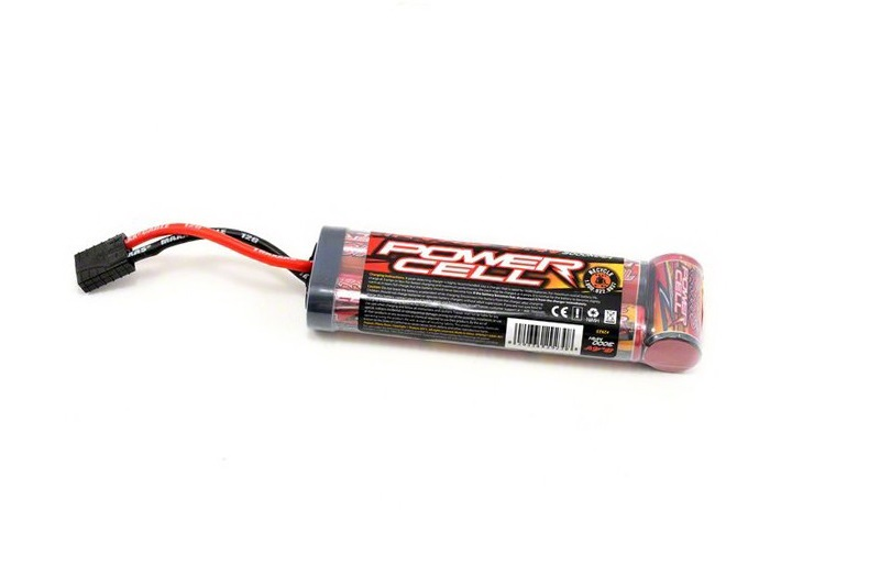 TRAXXAS запчасти Battery, Power Cell, 3000mAh (NiMH, 7-C flat, 8.4V) TRA2923