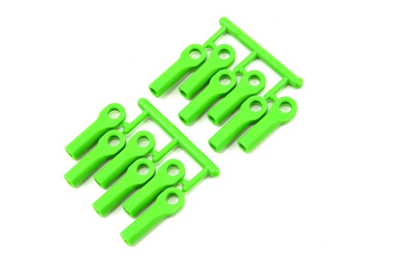 RPM Traxxas Long Rod Ends - Green RPM80514