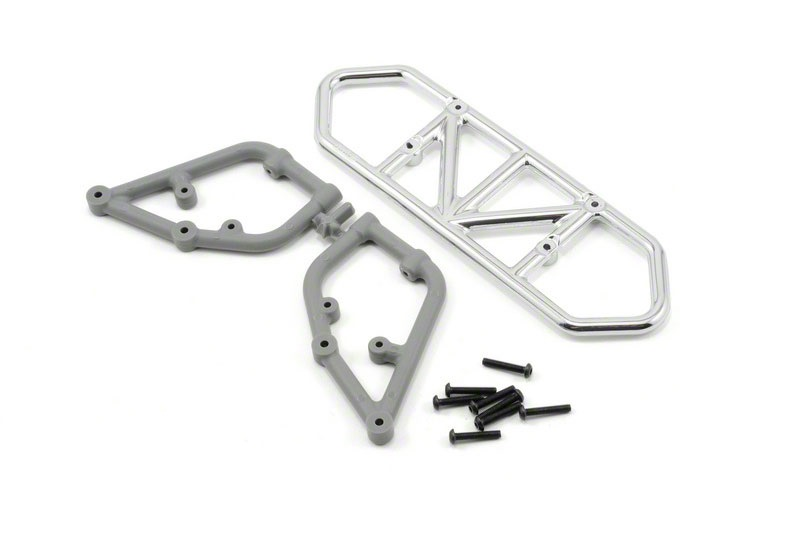 RPM Slash 2wd Rear Bumper - Chrome RPM81003