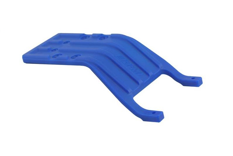 RPM Traxxas Slash Rear Skid Plate - Blue RPM81245