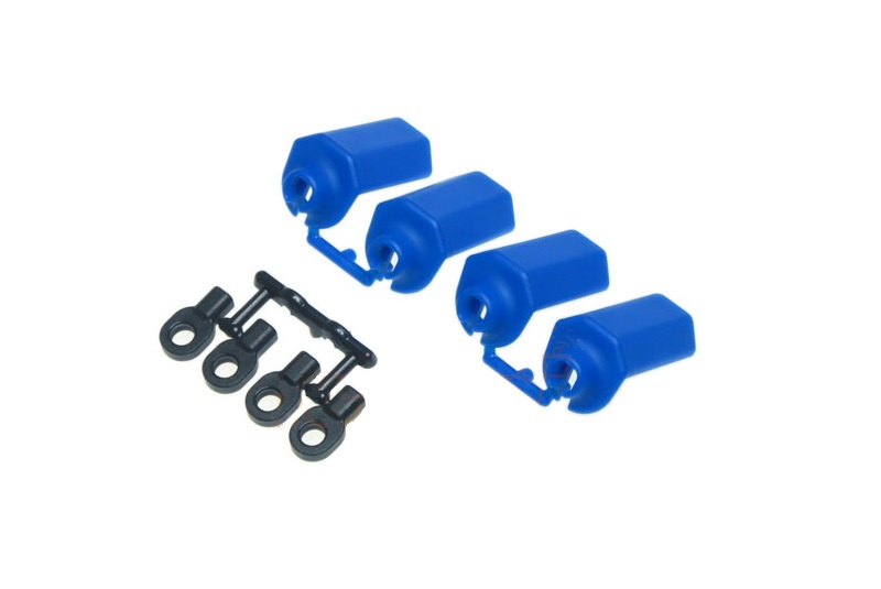RPM Traxxas  Durango Shock Shaft Guards - Blue RPM80405
