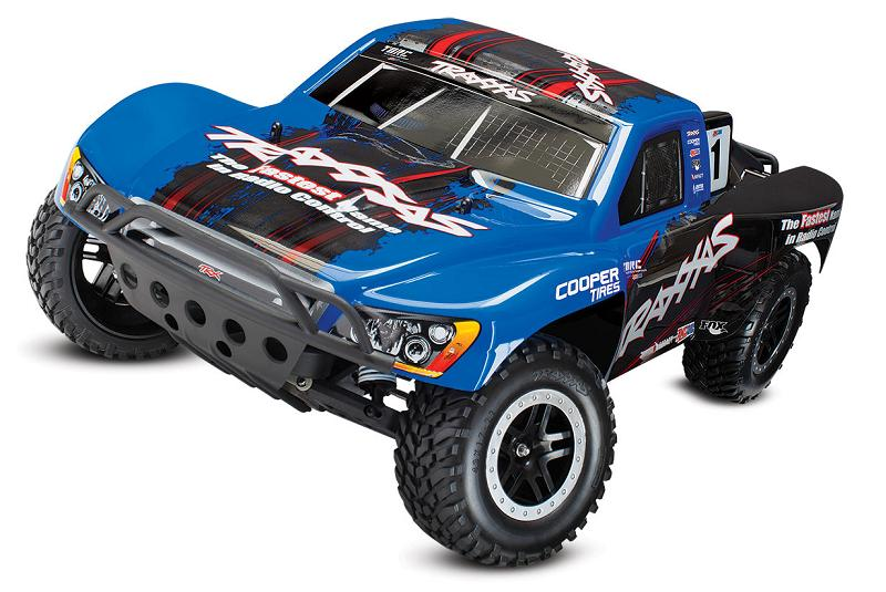 TRAXXAS 1/10 EP 2WD Slash Short Course Brushless TQi RTR (без аккумулятора) TRA5807X