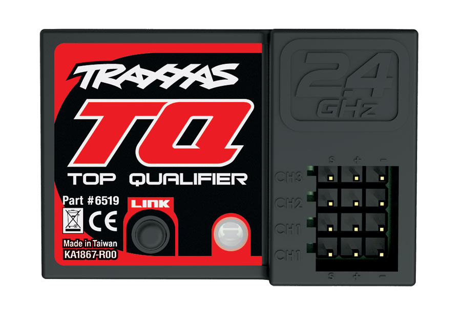 TRAXXAS 1/10 GP 2WD Nitro Rustler TQ RTR+ NEW Fast Charger TRA44094-1