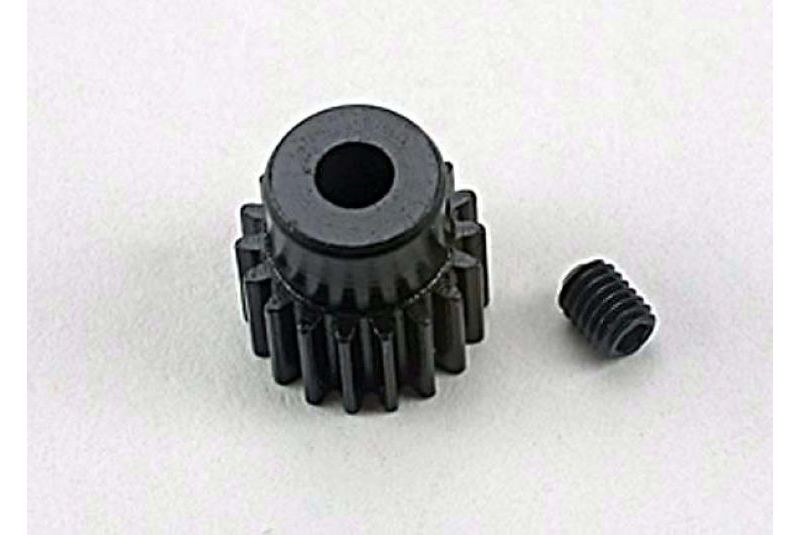 TRAXXAS запчасти Gear, 18-T pinion (48-pitch) / set screw TRA1918