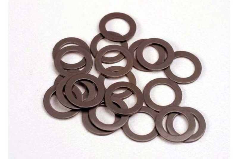 TRAXXAS запчасти PTFE-coated washers, 5x8x0.5mm (20) (use with ball bearings) TRA1985