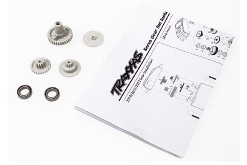 TRAXXAS запчасти Gear set (for 2070, 2075 servos) TRA2072