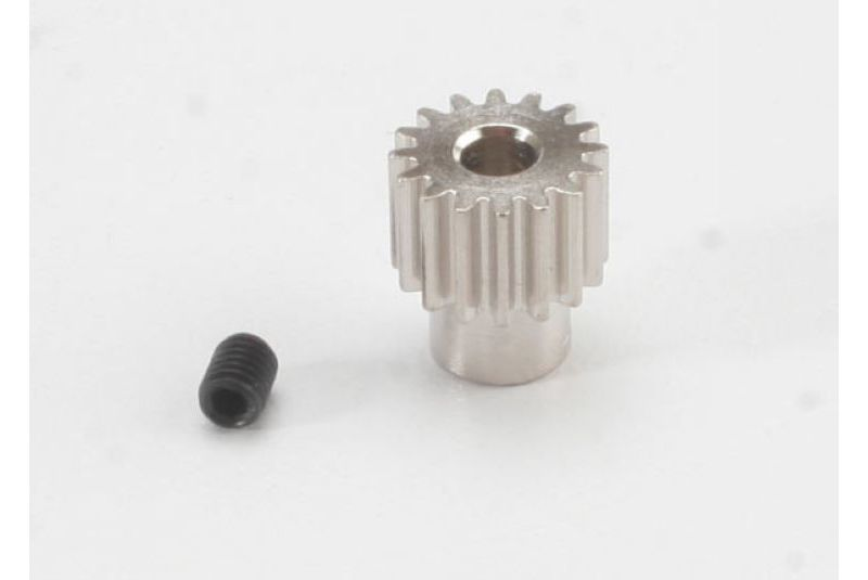 TRAXXAS запчасти Gear, 16-T pinion (48-pitch) / set screw TRA2416