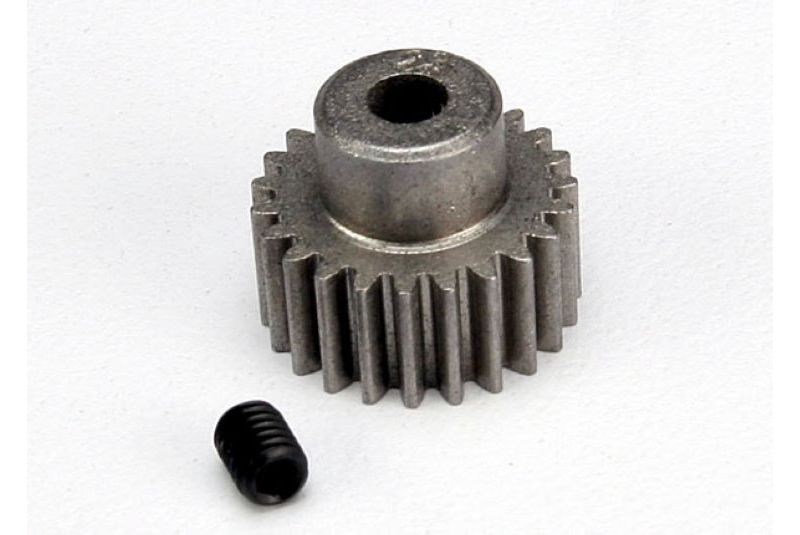 TRAXXAS запчасти Gear, 23-T pinion (48-pitch) / set screw TRA2423