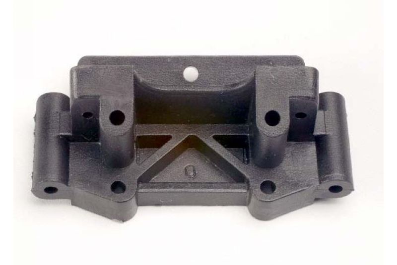 TRAXXAS запчасти Bulkhead (front) (black) TRA2530