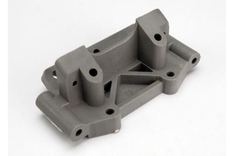 TRAXXAS запчасти Bulkhead (front) (grey) TRA2530A