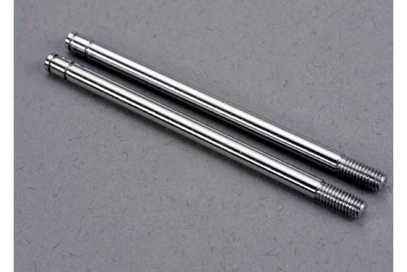 TRAXXAS запчасти Shock shafts, steel, chrome finish (xx-long) (2) TRA2656