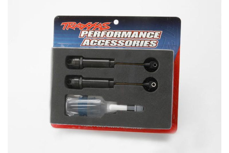 TRAXXAS запчасти Big Bore shocks (XX-long) (hard-anodized  PTFE-coated T6 aluminum) (assembled with TiN shafts)  TRA2662