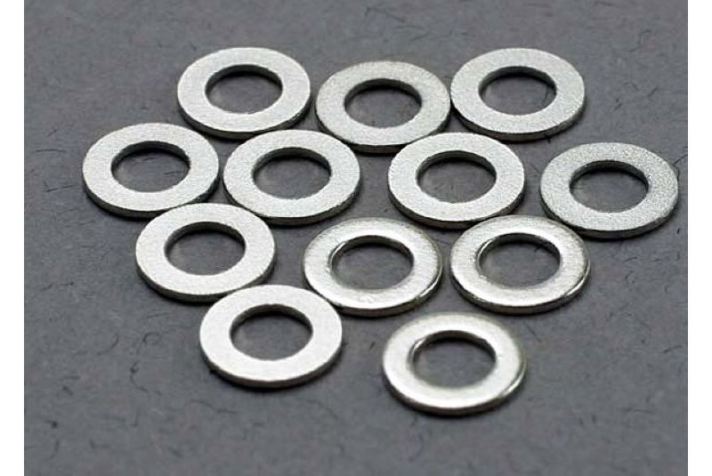 TRAXXAS запчасти Washers, 3x6mm metal (12) TRA2746