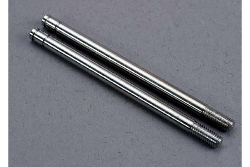 TRAXXAS запчасти Shock shafts, steel, chrome finish (X-long) (2) TRA2765