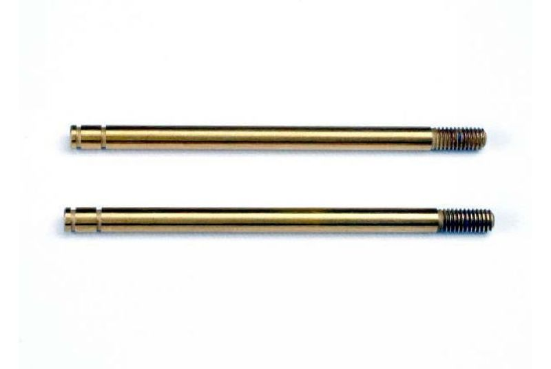 TRAXXAS запчасти Shock shafts, hardened steel, titanium nitride coated (X-long) (2) TRA2765T