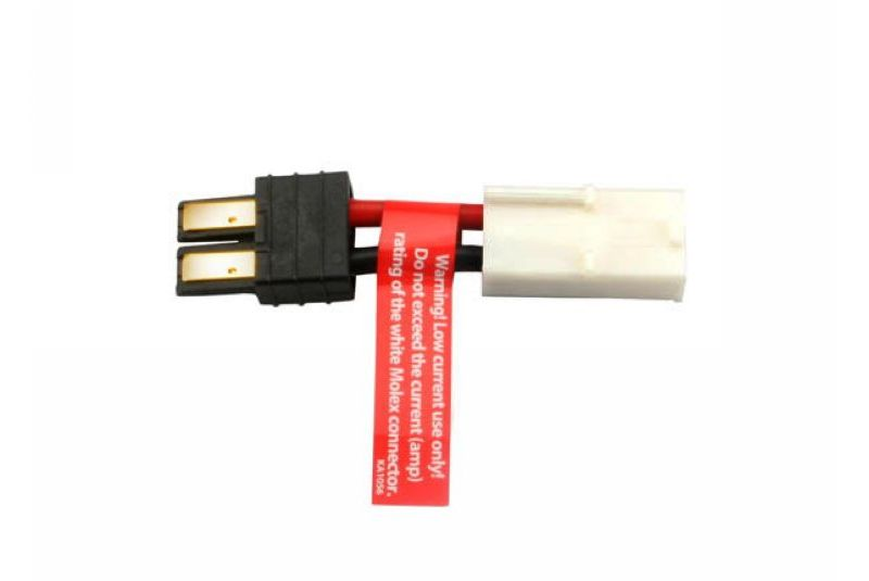 TRAXXAS запчасти Adapter, Traxxas connector male to Molex female (1) (Note: Molex connector not suitable for high cur TRA3061