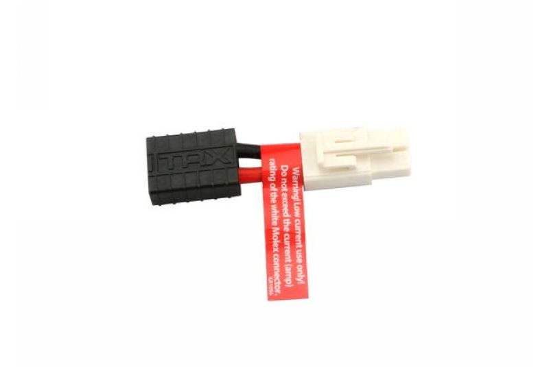 TRAXXAS запчасти Adapter, Traxxas connector female to Molex male (1) (Note: Molex connector not suitable for high cur TRA3062