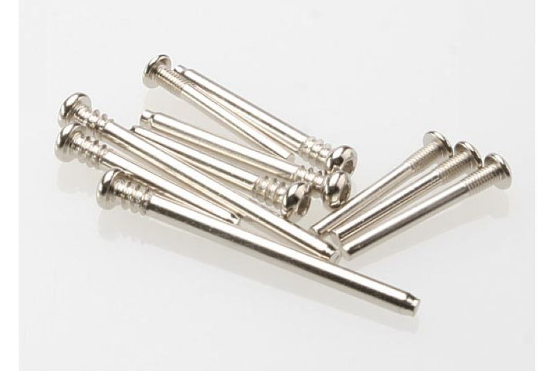 TRAXXAS запчасти Suspension screw pin set, steel (hex drive) (requires part # 2640 for a complete suspension pin set) TRA3640