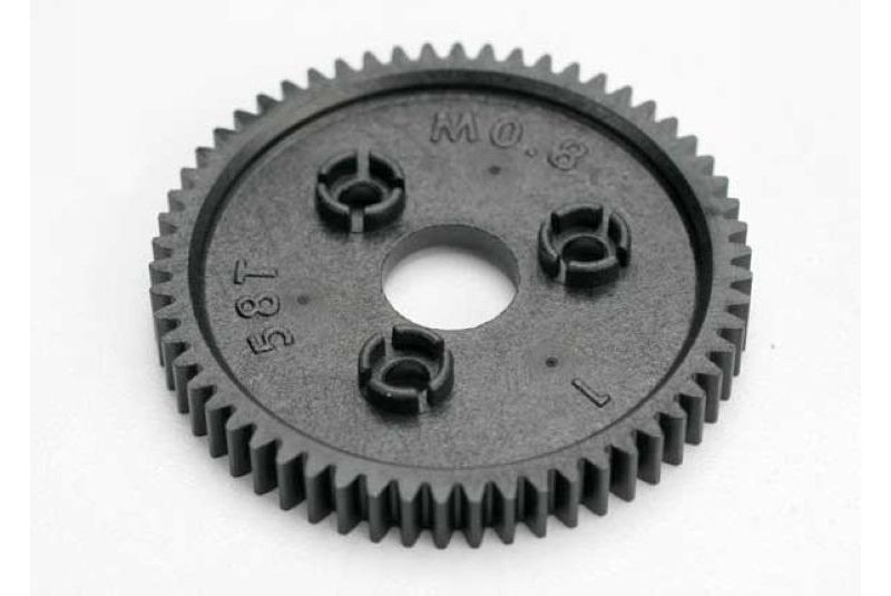 TRAXXAS запчасти Spur gear, 58-tooth (0.8 metric pitch, compatible with 32-pitch) TRA3958