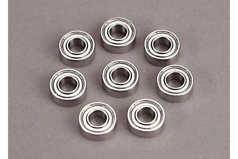 TRAXXAS запчасти Ball bearings (5x11x4mm) (8) TRA4607