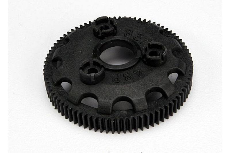 TRAXXAS запчасти Spur gear, 83-tooth (48-pitch) (for models with Torque-Control slipper clutch) TRA4683