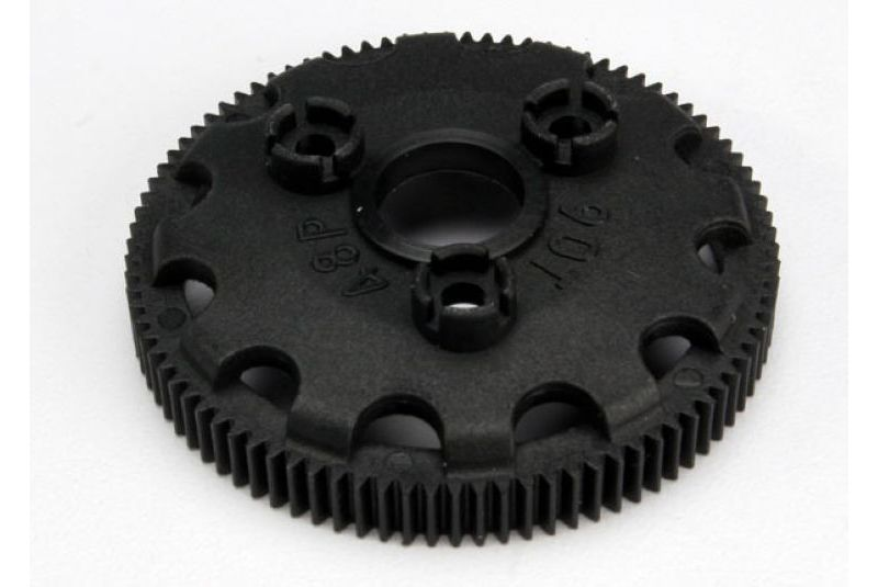 TRAXXAS запчасти Spur gear, 90-tooth (48-pitch) (for models with Torque-Control slipper clutch) TRA4690