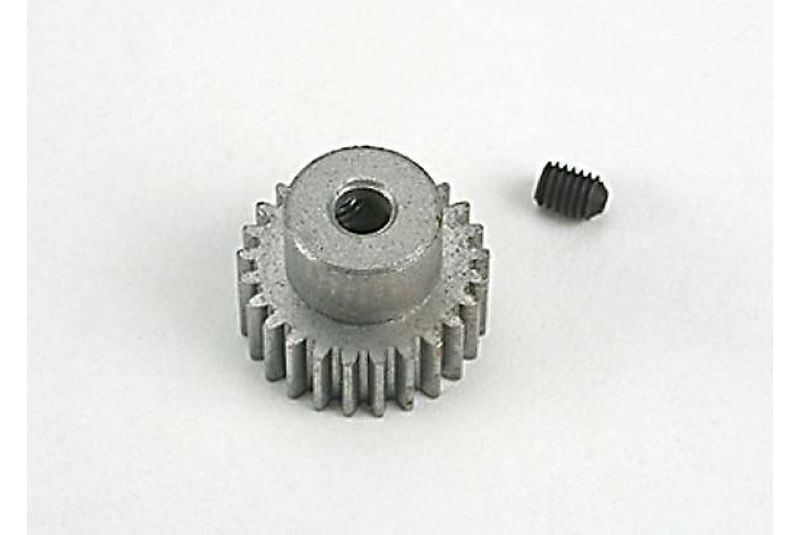 TRAXXAS запчасти Gear, pinion (25-tooth) (48-pitch) / set screw TRA4725