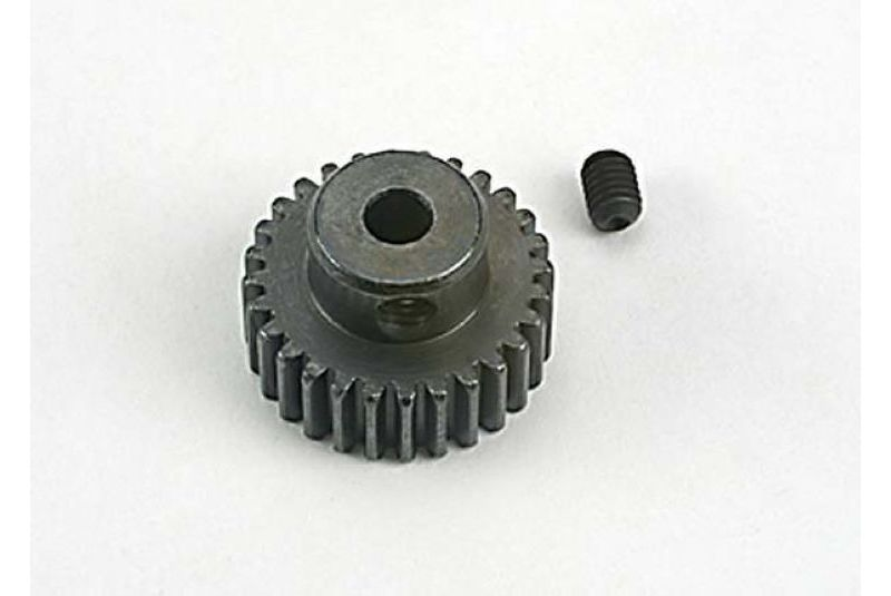 TRAXXAS запчасти Gear, pinion (28-tooth) (48-pitch)/ set screw TRA4728