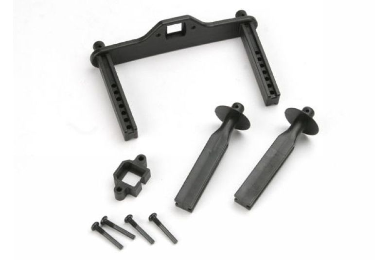 TRAXXAS запчасти Body mount posts, front (2)/ body mount, rear/ body mount screw pins (4) TRA4914R