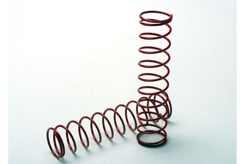 TRAXXAS запчасти Springs, red (for Ultra Shocks only) (2.5 rate) (f/r) (2) TRA4957