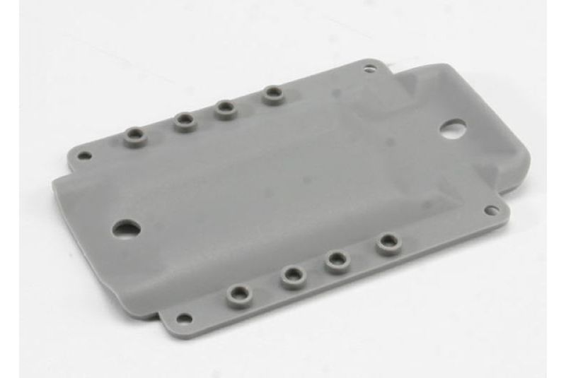 TRAXXAS запчасти Skidplate, transmission, nylon (grey) (for long wheelbase chassis) TRA4969