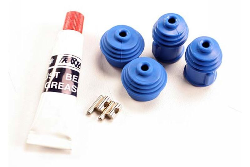 TRAXXAS запчасти Rebuild kit (for Revo/Maxx steel constant-velocity driveshafts) (includes pins, dustboots,  lub TRA5129