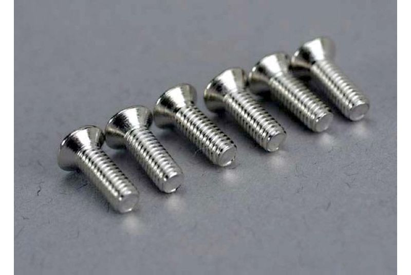 TRAXXAS запчасти Screws, 2.6x8mm countersunk machine (6) TRA5169