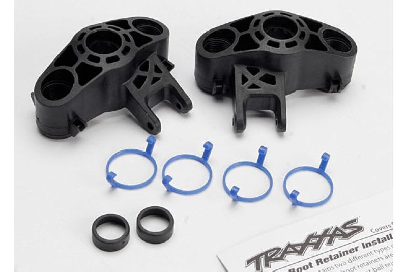 TRAXXAS запчасти Axle carriers, left  right (1 each) (use with larger 6x13mm ball bearings)/ bearing adapters (f TRA5334R