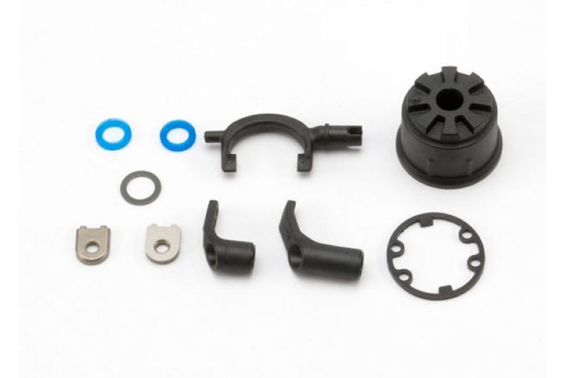 TRAXXAS запчасти Carrier, differential (heavy duty)/ differential fork/ linkage arms (front  rear)/x-ring gasket TRA5681