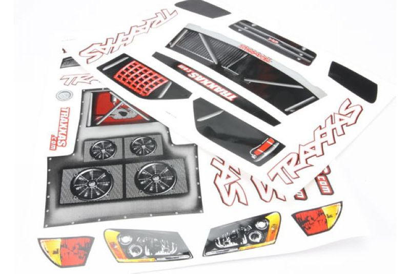 TRAXXAS запчасти Decal Sheet, Slash TRA5813