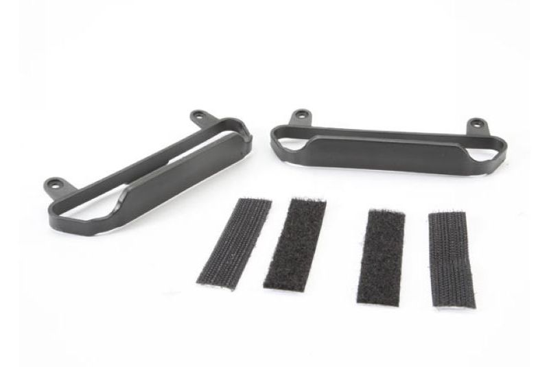 TRAXXAS запчасти Nerf bars, chassis (black) TRA5823